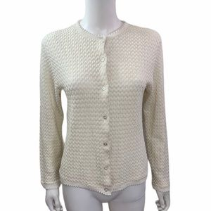 jason maxwell Sweaters - Jason Maxwell Crochet Sweater Cardigan